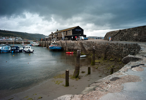Lyme Regis Harbour Aug 2010