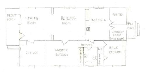 1915 craftsman bungalow floor plan for 1925 bungalow floor plan