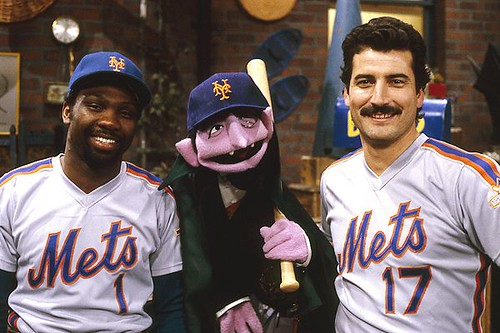 Keith Hernandez and Mookie Wilson