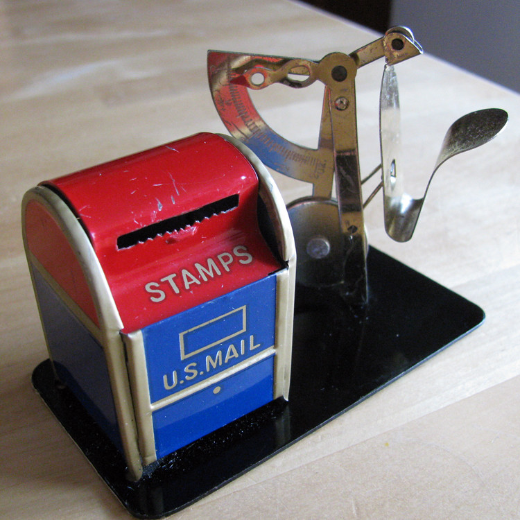 Stamp Dispenser And Scale 2010
