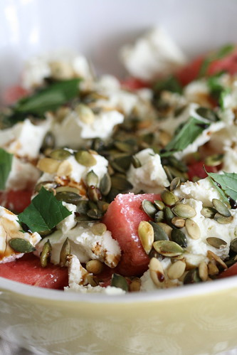 Watermelon salad / Arbuusisalat