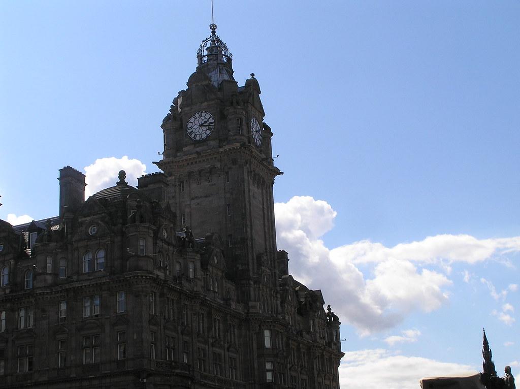 Edinburgh Fringe Festival | The very majestic Balmoral Hotel