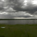Small photo of Clouds above the Salt Lake, near Braila city, Romania