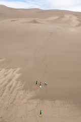 wadi(0.0), erg(1.0), sand(1.0), aeolian landform(1.0), natural environment(1.0), desert(1.0), dune(1.0), landscape(1.0), singing sand(1.0),