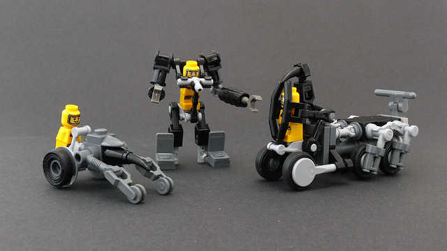 Microfigs Vehicles