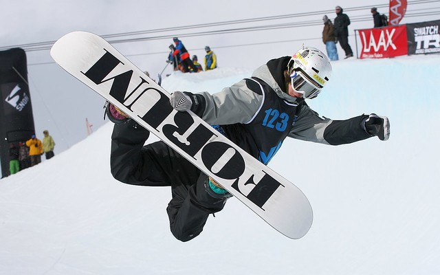 Men's Snowboard Halfpipe Finals - The Brits - Laax, Switzerland 2010 - Forum Snowboard