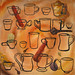 Chai Tea food painting for the vegetarian recipes cookbook by Australian artist Fiona Morgan
