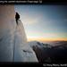 Warner climbing the summit mushroom, Chopicalqui (3)