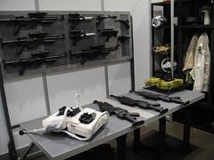 Star Wars Celebration V - custom made blaster props