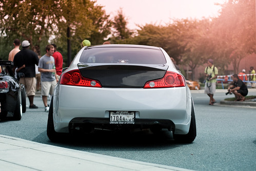 Insane Stanced G35