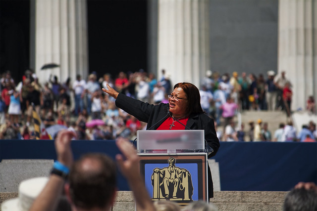 Header of Alveda King
