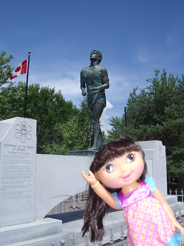 Dora and Terry Fox, Thunder Bay, ON