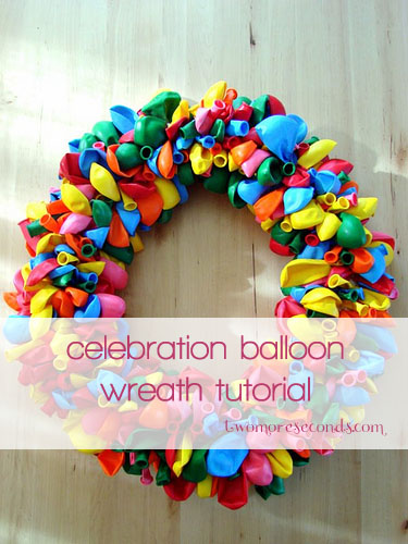 Balloon Wreath tutorial