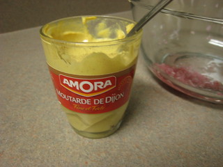 French mustard for use in vinaigrette
