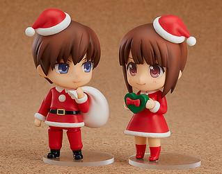 迎接聖誕節的心情!《黏土人配件系列》「換裝用聖誕裝 女孩&男孩版本」!ねんどろいどもあ きせかえクリスマス 女の子Ver./男の子Ver.