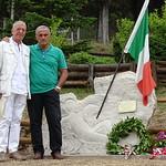 Stele in memoria del Portabandiera conte Ludovico Negroni