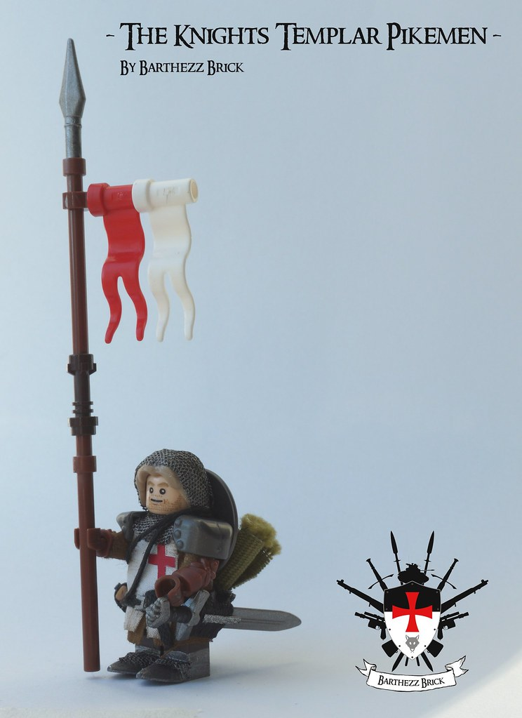 The Knights Templar Pikemen By Barthezz Brick 3