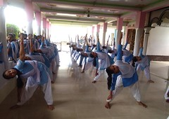 International Yoga Day Celebration at VKV Borojalenga