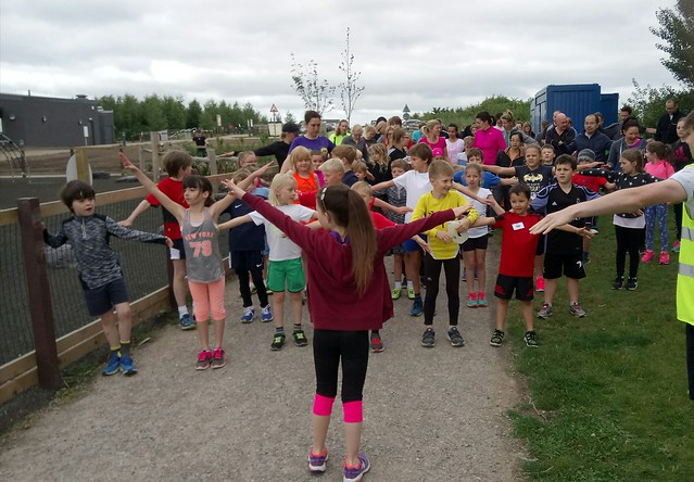 Gedling junior parkrun 2nd July 2017
