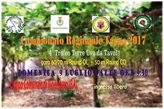 Noicattaro. Campionato Regionale Targa