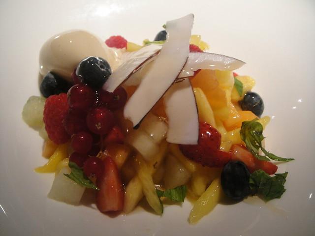 Uesos cristal de frutas y t verde con helado de juanolas for Frutas de cristal