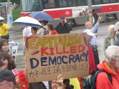 Capitalism killed democracy