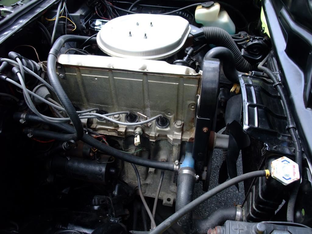 1974 Pontiac Astre 140 cu in engine