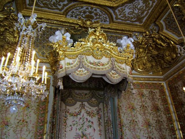 Chambre de la reine dett baldacchino flickr photo for Chambre de la reine