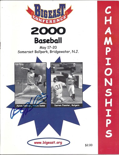 2000 Big East Baseball Championships program