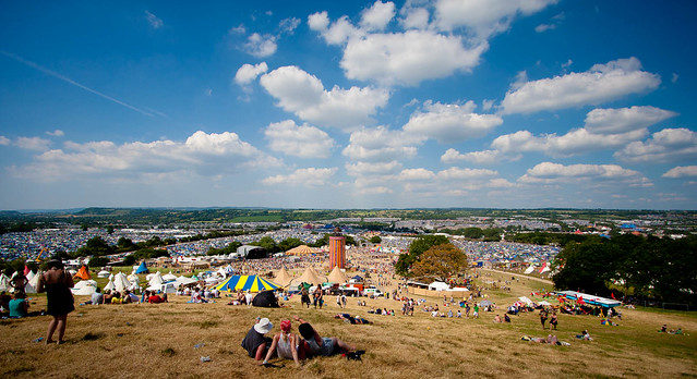 Glastonbry Festival Panorama https://www.flickr.com/photos/russss/