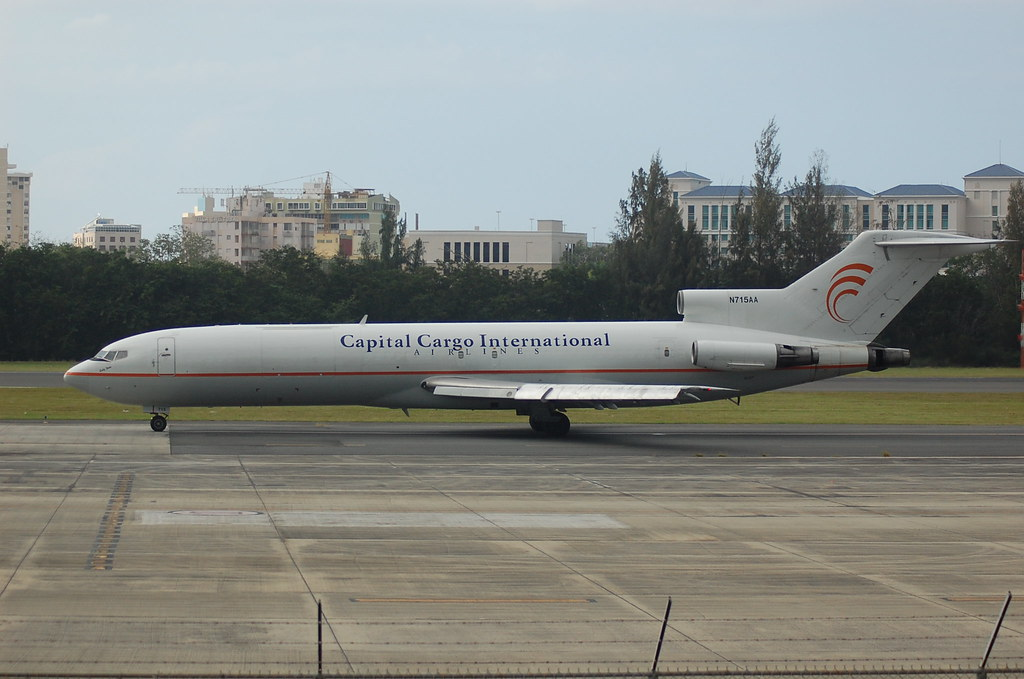 Capital Cargo International AirlinesBoeing 727-223/Adv(F