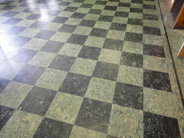 Vintage Asbestos Checker Floor Tile Pattern Flickr Photo Sharing