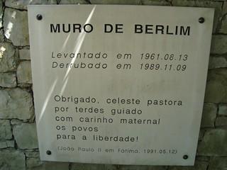 fall of muro de berlim remembrance place