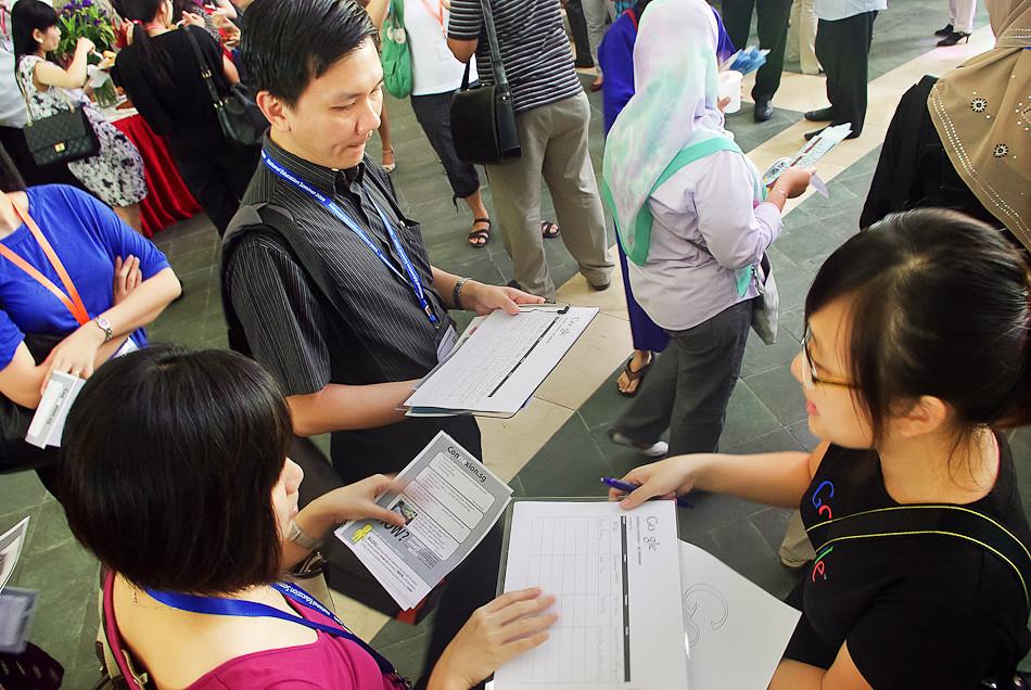 Doodle 4 Google Singapore | Roadshow held at Nanyang Polytec
