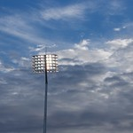 Dramatic Clouds above Northants County Cricket Club