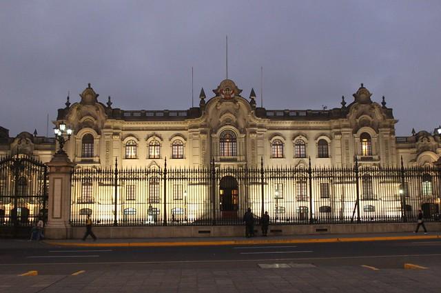Lima: Palacio del Gobierno