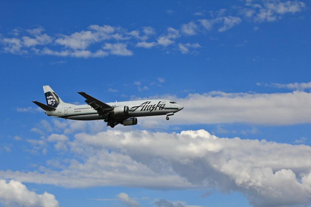 """Alaska Airlines Boeing 737-400 """"Combi"""""""