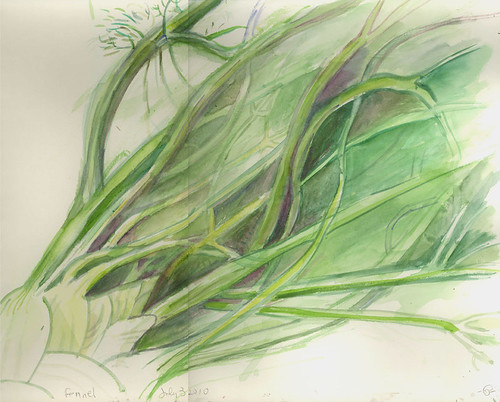 Fennel  by Marcia Milner-Brage