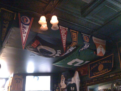 At @finley_dunnes where my #Mets pennant proudly hangs