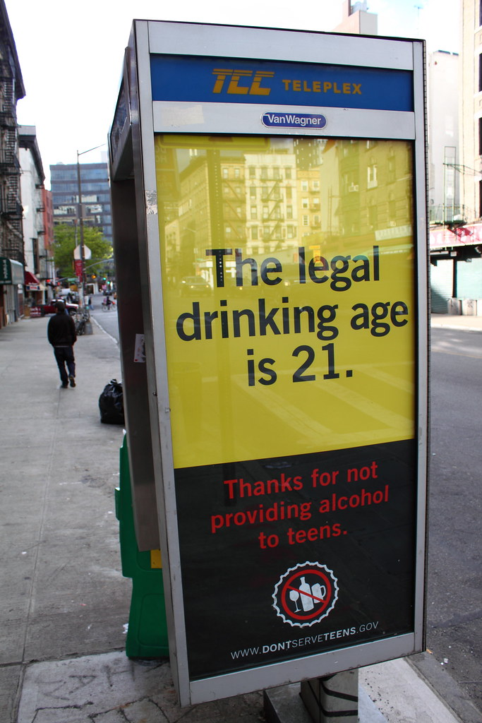 lowering the legal drinking age A lower age would discourage binge drinking and may help combat sexual assault.