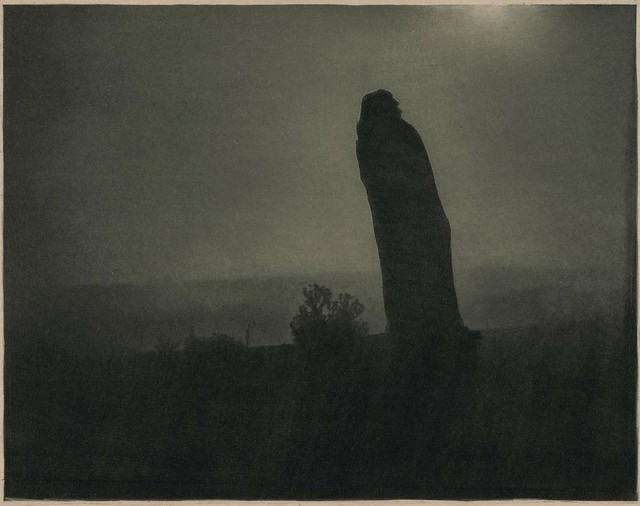 Balzac, The Silhouette - 4am, by Edward Steichen 1908