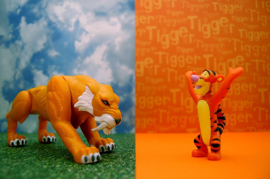Zabu vs. Tigger (195/365)