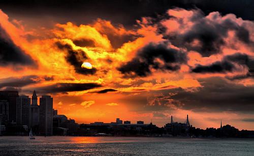 sunset boston canon harbor dusk bostonist 50d hbppix mygearandmepremium mygearandmebronze mygearandmesilver