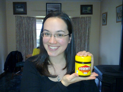 My First Vegemite Experience