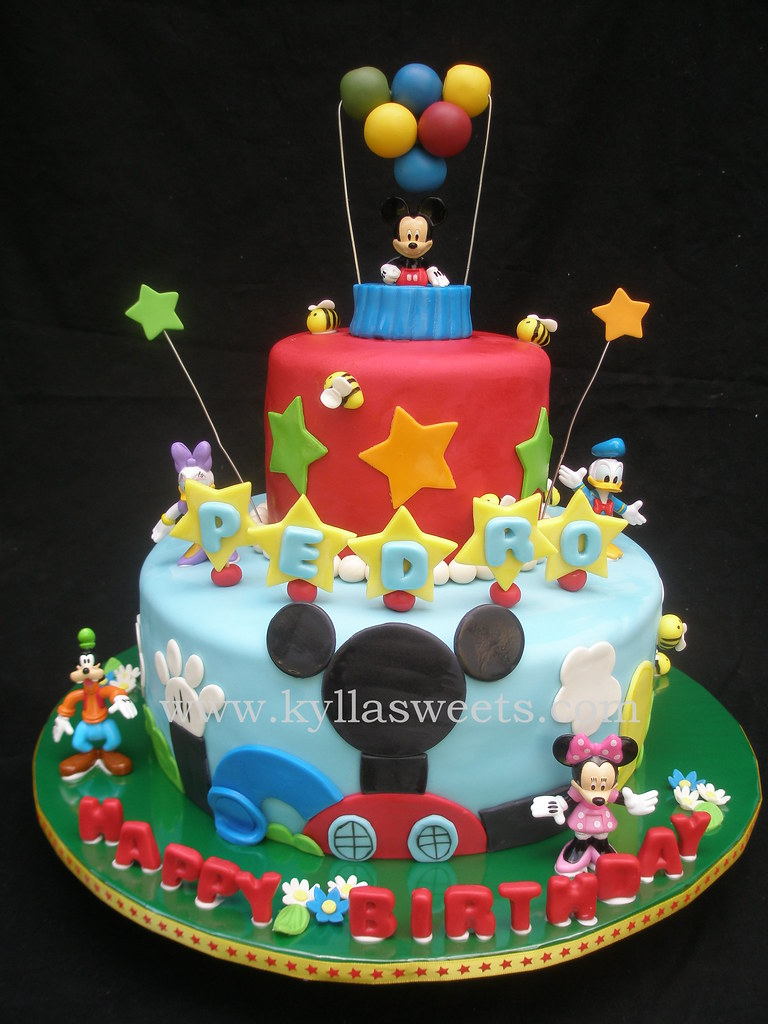 Mickey Mouse Clubhouse Cake Images : Mickey Mouse Clubhouse cake - a photo on Flickriver