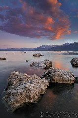 Black Point Sunset, Mono Lake, California