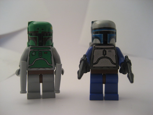 Lego Jango Fett And Boba Fett Lego Boba And Jango Fett