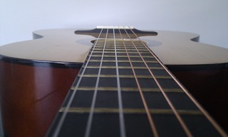 Guitar time, firsts chords, first fingers pain