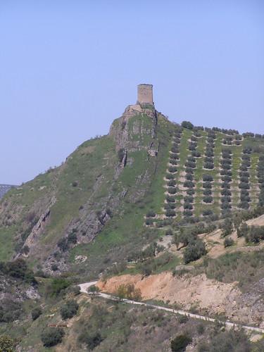 Castillo Víboras desde la presa
