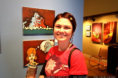godzilla paintings by randy huebner at lunar boy gal…